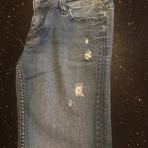 Jeans - Jeans with beautiful rinstone pockets